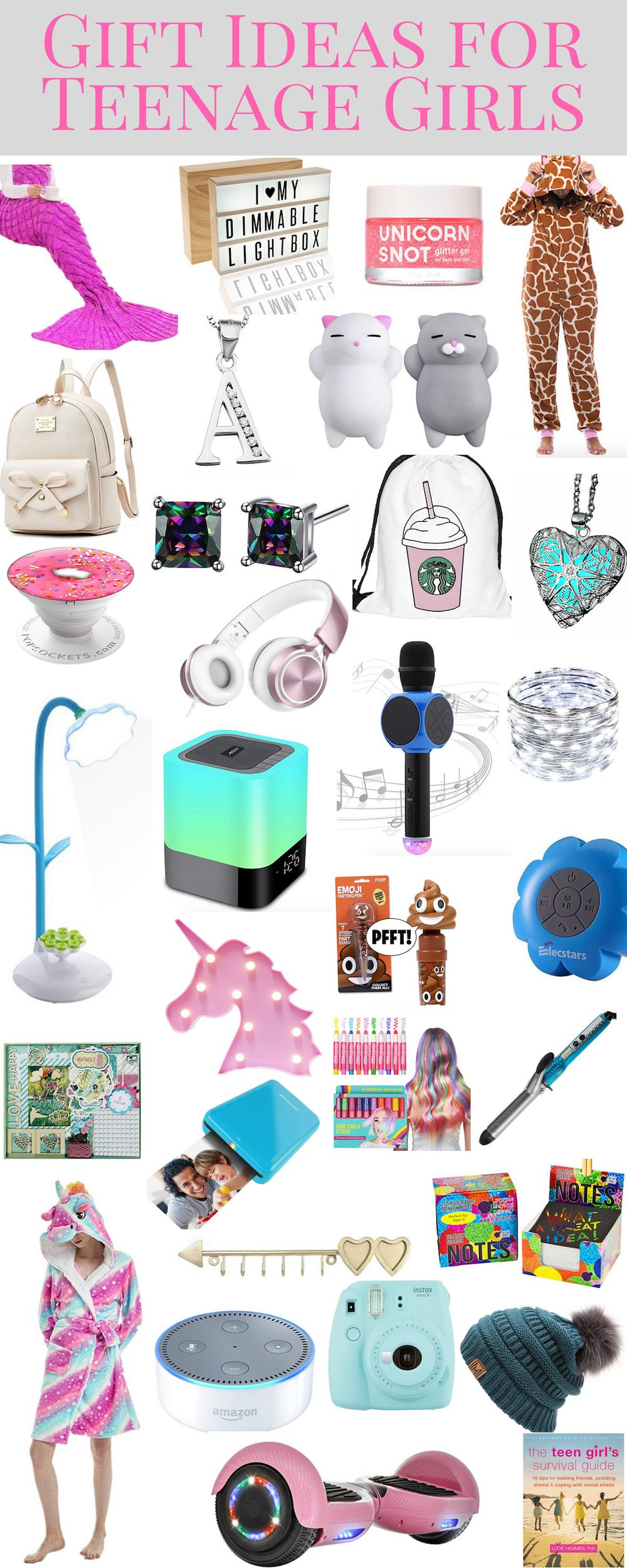 Gift Ideas for Tween and Teen Girls | Geschenke | Pinterest | Gifts ...