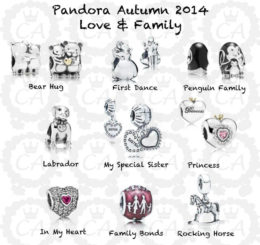 2347c0aca new zealand charms addict pandora autumn 2014 complete preview ff941 a058a