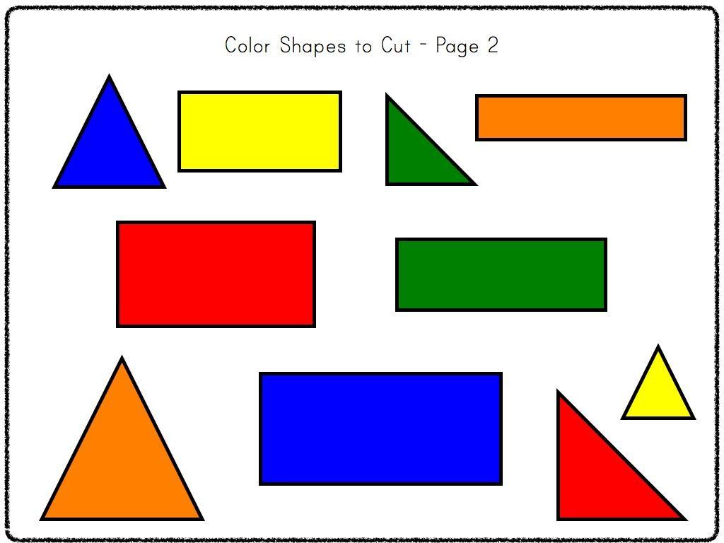 Kindergarten 2 D Geometry Pack