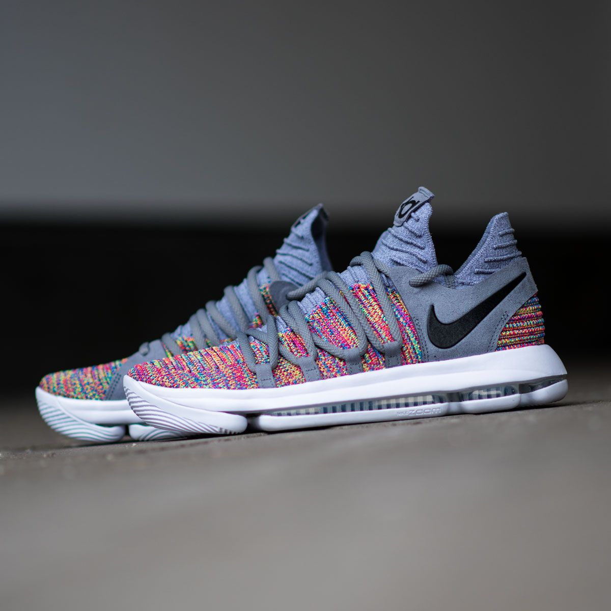 cheap for discount dc739 c1db1 The rainbow version of his signature shoe, the Nike KD 10 is available now  on KICKZ.com and in selected stores!