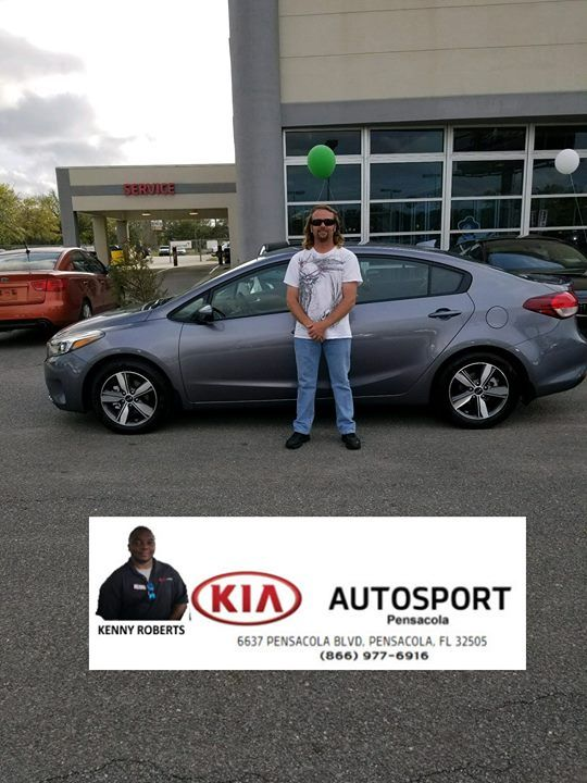 KIA AutoSport Of Pensacola And Kenny Roberts Would Like To CONGRATULATE Mr.  Mathews On The Purchase Of His NEW 2018 Kia Rio!!! Thank You U2026