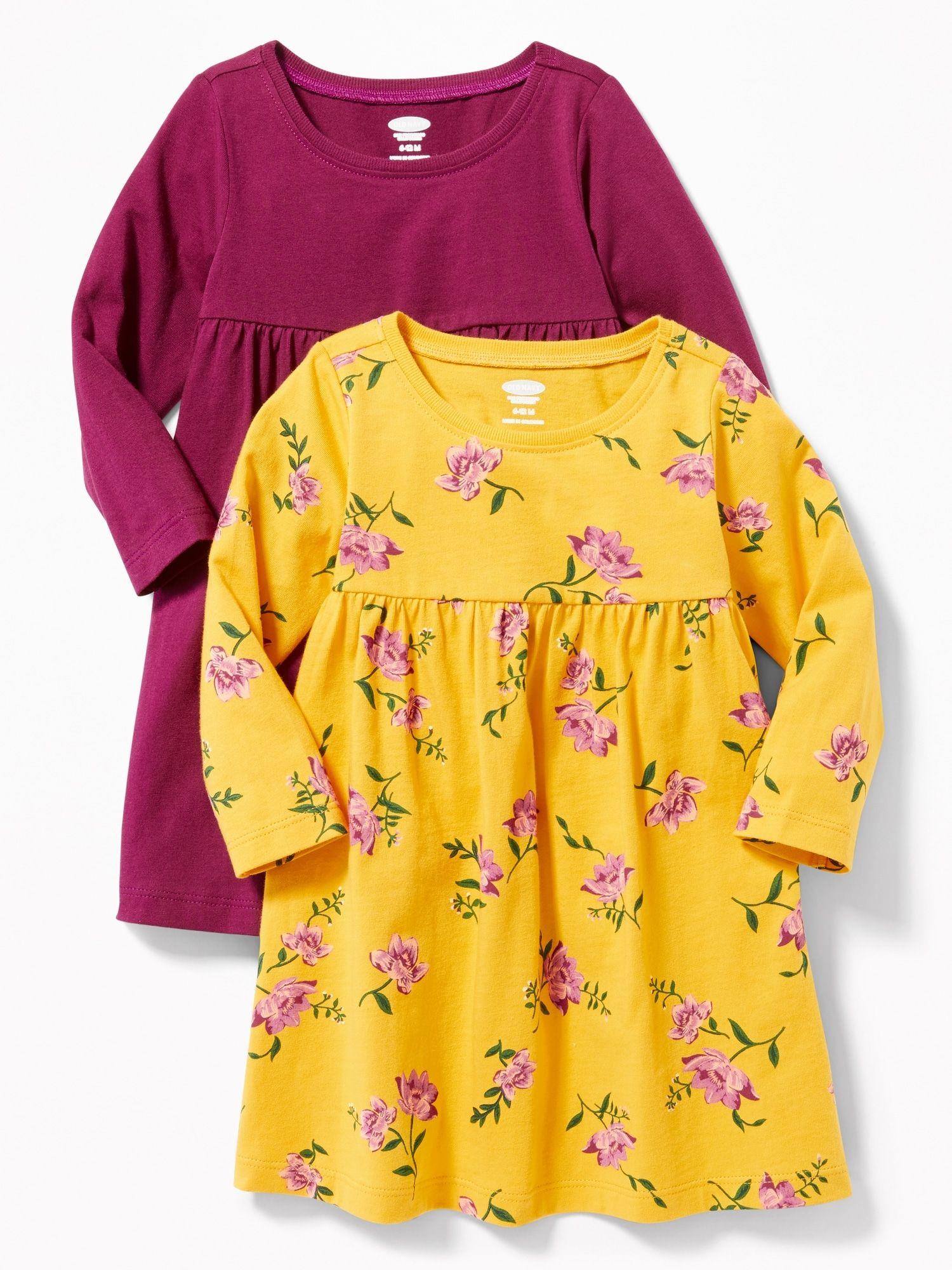 Old navy baby girl yellow dress
