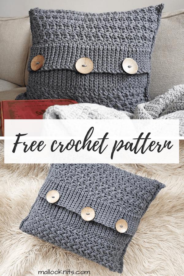 Decorative Crochet Pillow Pattern Mallooknits Com Crochet Pillow Patterns Free Crochet Pillow Cover Crochet Pillow Pattern