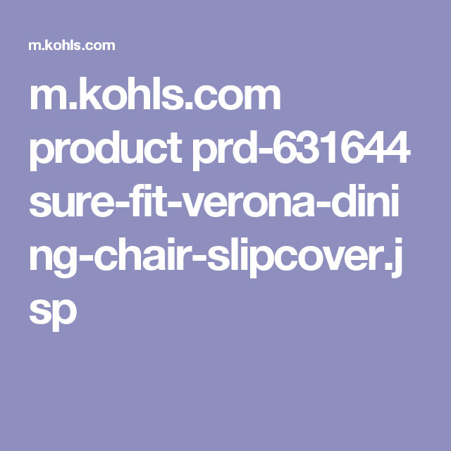 Dining Chair Slipcovers Mkohls Product Prd 631644 Sure Fit Verona