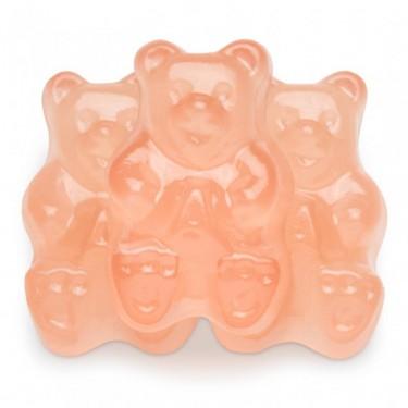 Pink Grapefruit Gummi Bears Gummy Bear Candy Pink Grapefruit Gummy Bears