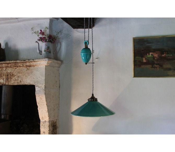Lighting Pendant Ceramic Rise And Fall Light The