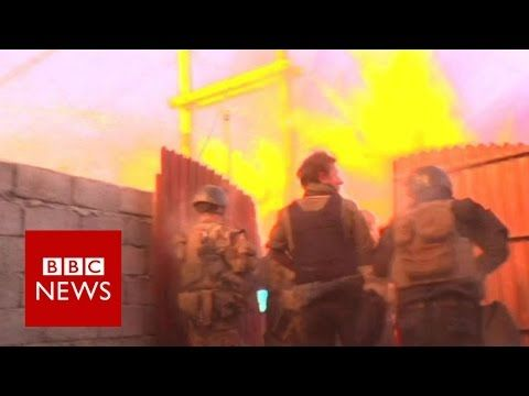 Attack on Iraqi army filmed by the BBC (at 2 min)