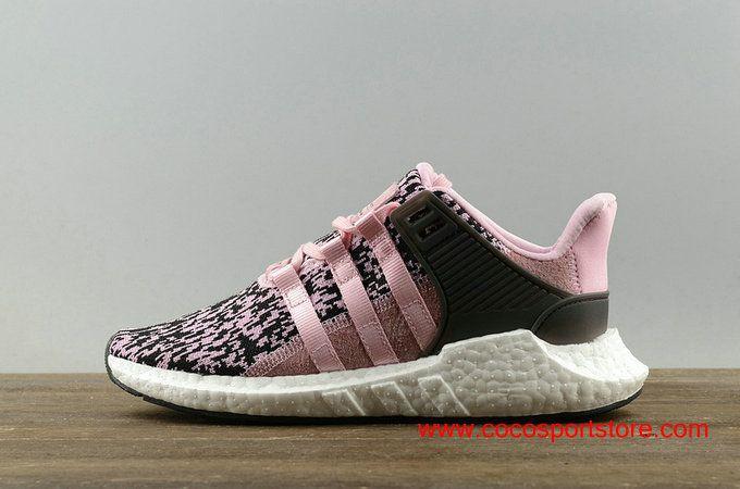 adidas eqt sostegno 93 / 17 scarpe rosa nero bz0583 correndo chissa '