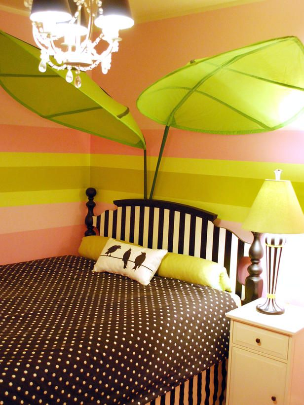 25 Colorful Rooms We Love From Rate My Space from HGTV | bedroom ...