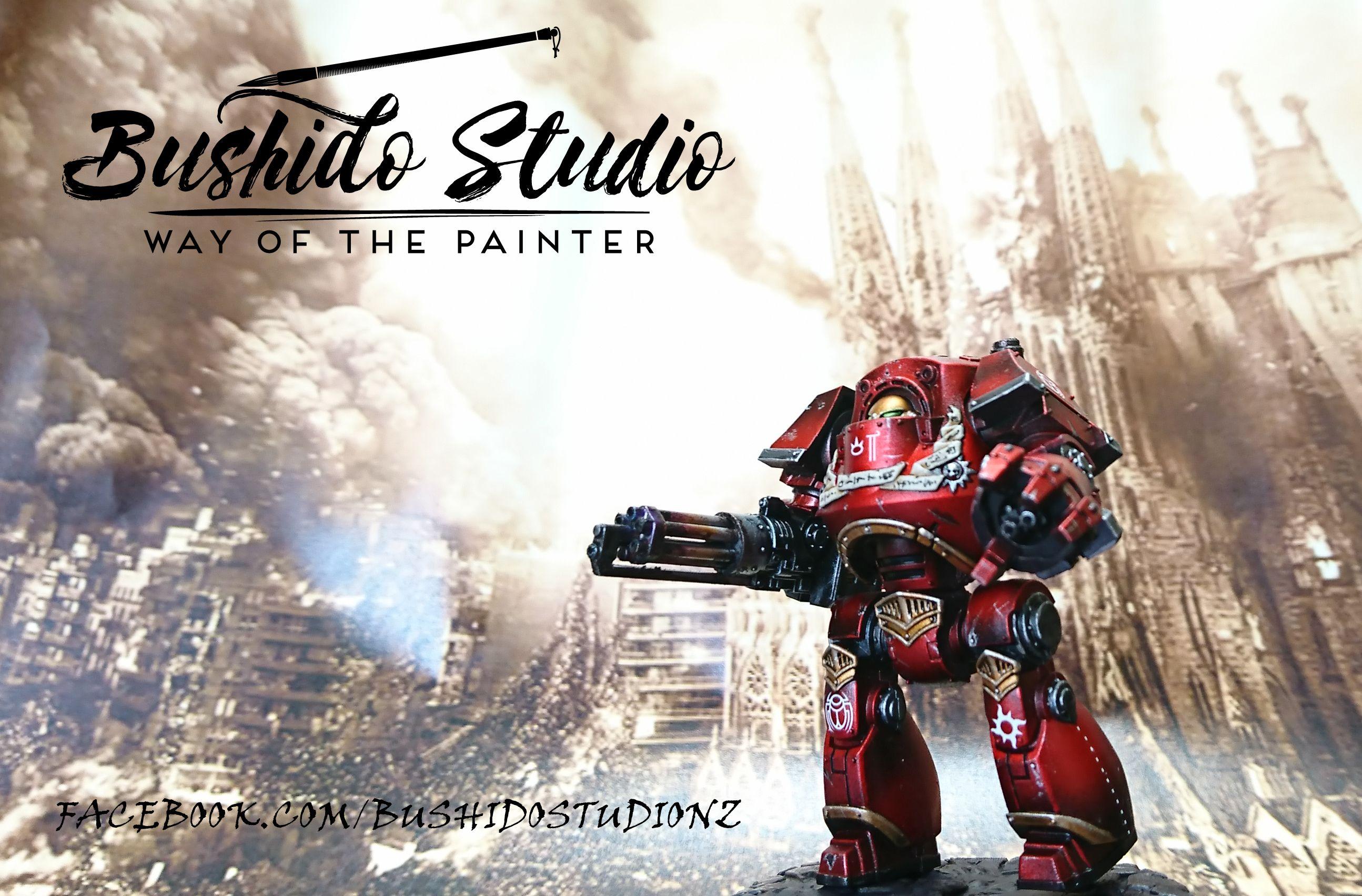 Warhammer 40k 30k Thousand Sons Contemptor Dreadnought Candy Red Metallic