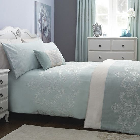 Pretty Duck Egg Blue Bedroom