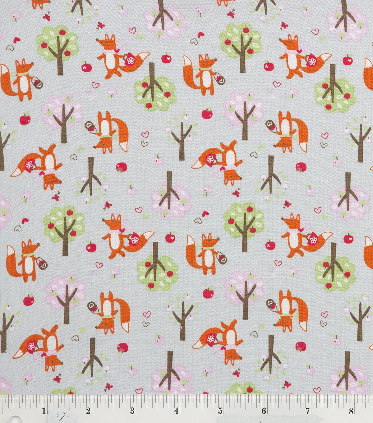 Foxy foxes :) Cute red riding fox #fabric! #quilt - hmmm why do I