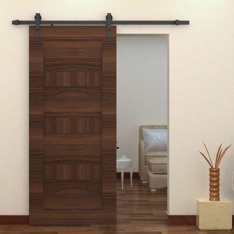 Puertas correderas de madera para el cuarto de baño Patios - puertas de madera para bao