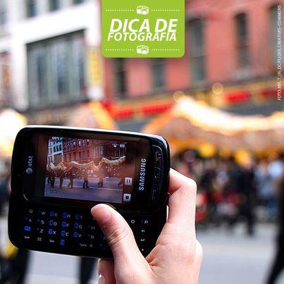 Mantendo o foco: A maioria dos smartphones já possuem estabilizadores que ajudam a diminuir o efeito tremulo das imagens, para obter um resultado ainda melhor, busque sempre lugares onde exista uma boa luminosidade.   www.nagem.com.br