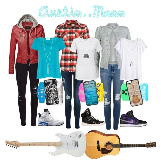 """Austin Moon looks!!!"" by kat-e-b ❤ liked on Polyvore featuring Frame Denim, Lee Cooper, Givenchy, ONLY, Cotton Citizen, American Vintage, Charlotte Russe, H&M, Dsquared2 and Estella Bartlett"