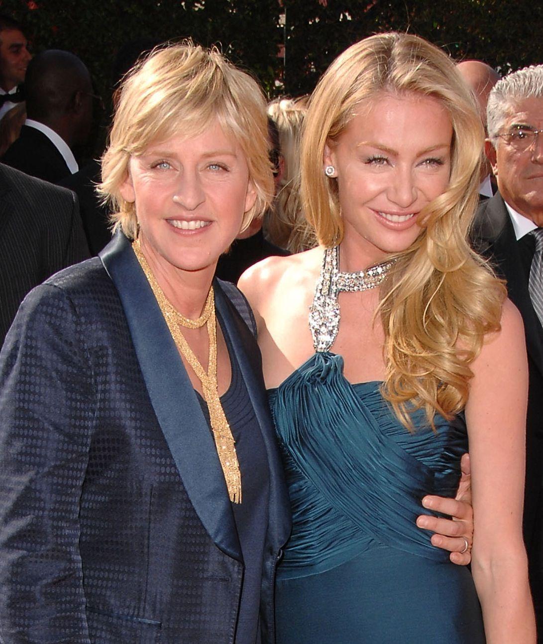 Ellen And Portia Ellen Degeneres Portia De Rossi To Launch Vegan Pet Food