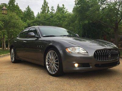 Maserati Quattroporte S Sedan Door Low Mile Free