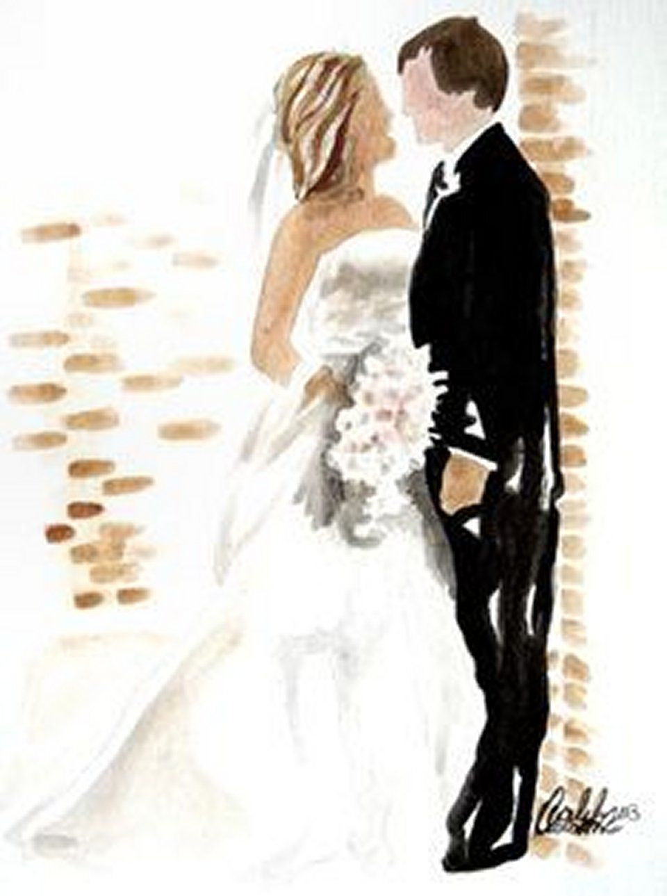 Weddingstyle Watercolor Painting Pinterest Watercolor And