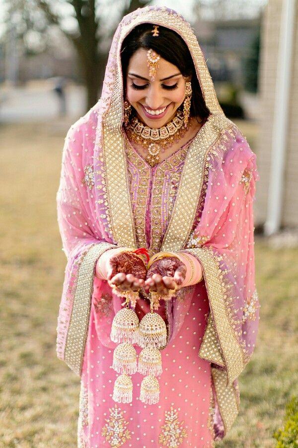 Pin de Samia_Ostadi en Punjabi Bridals and Jewellery | Pinterest