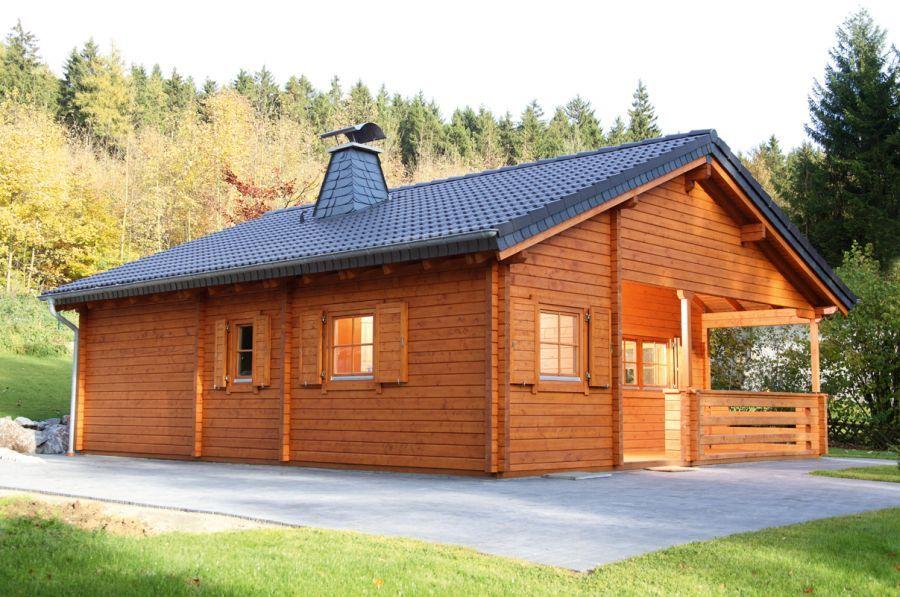 Wolff Finnhaus Ferienhaus Vogelsberg ISO Ferienhaus