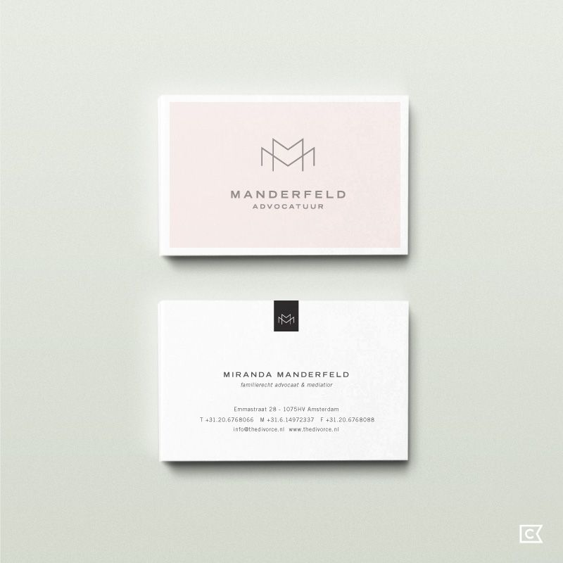 Manderfeld Advocatuur by Compass Island CARD - TAG - and MORE