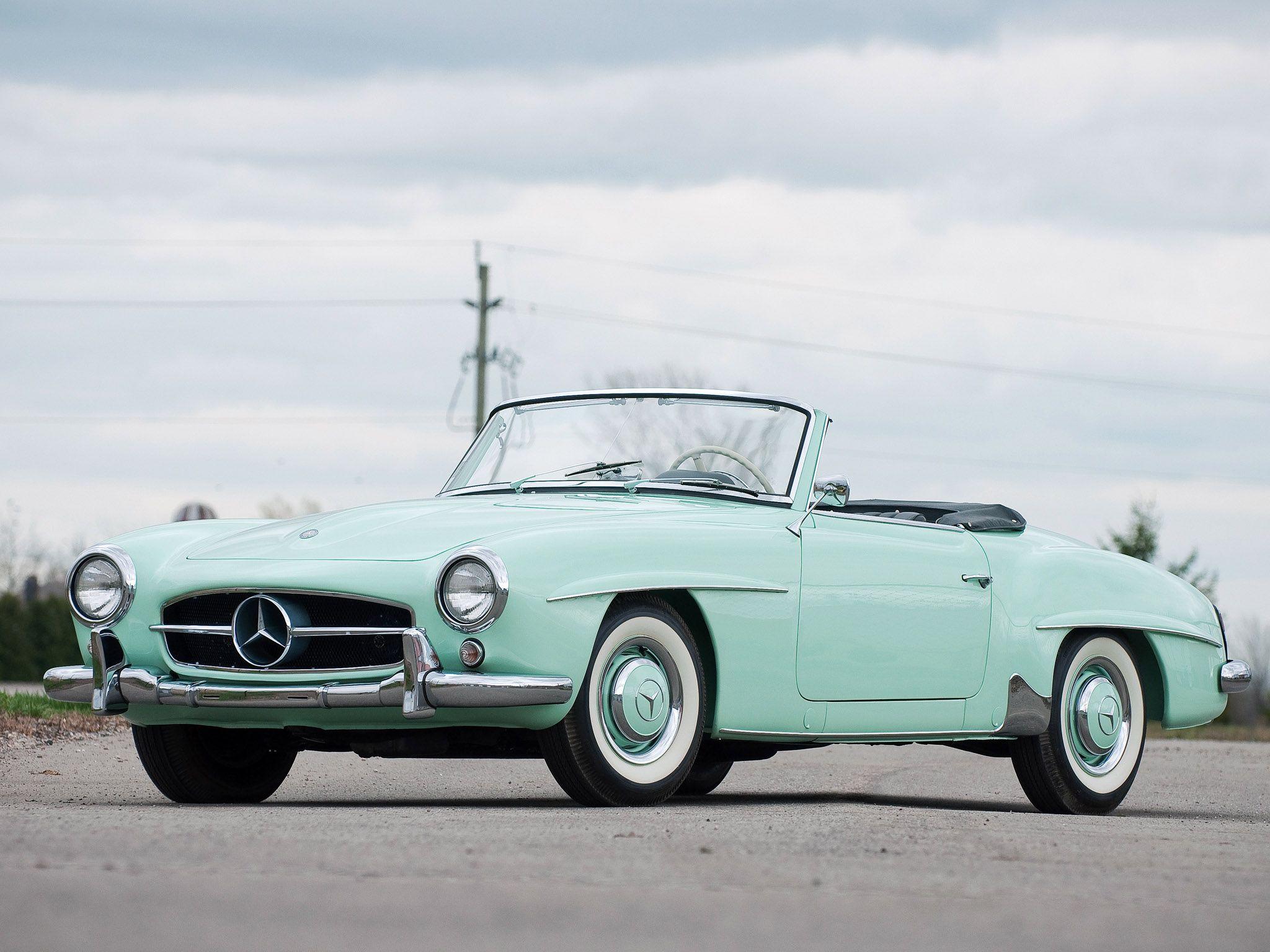 1955 Mercedes Benz 190sl Mercedes Benz 190 Mercedes Benz Benz
