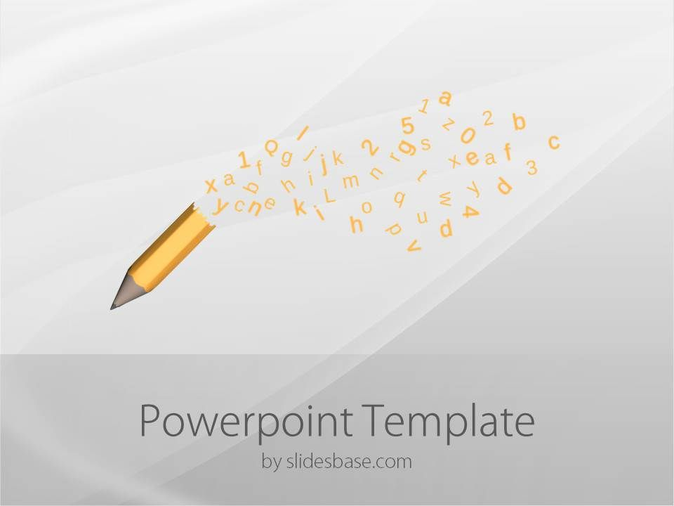 Pencil flying letters writing sketching drawing powerpoint template pencil flying letters writing sketching drawing powerpoint template slide1 1 toneelgroepblik Images