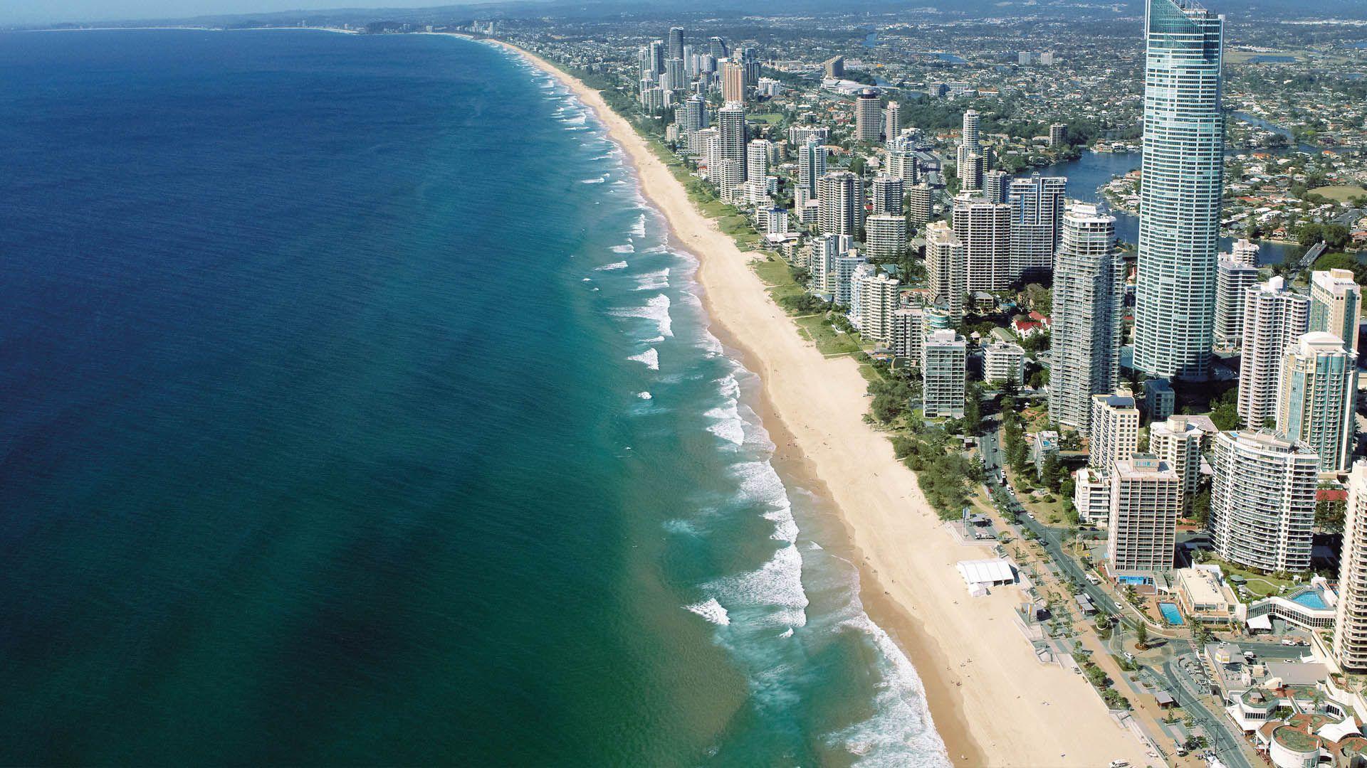 Surfers Paradise, Gold Coast, Queensland. © Tourism