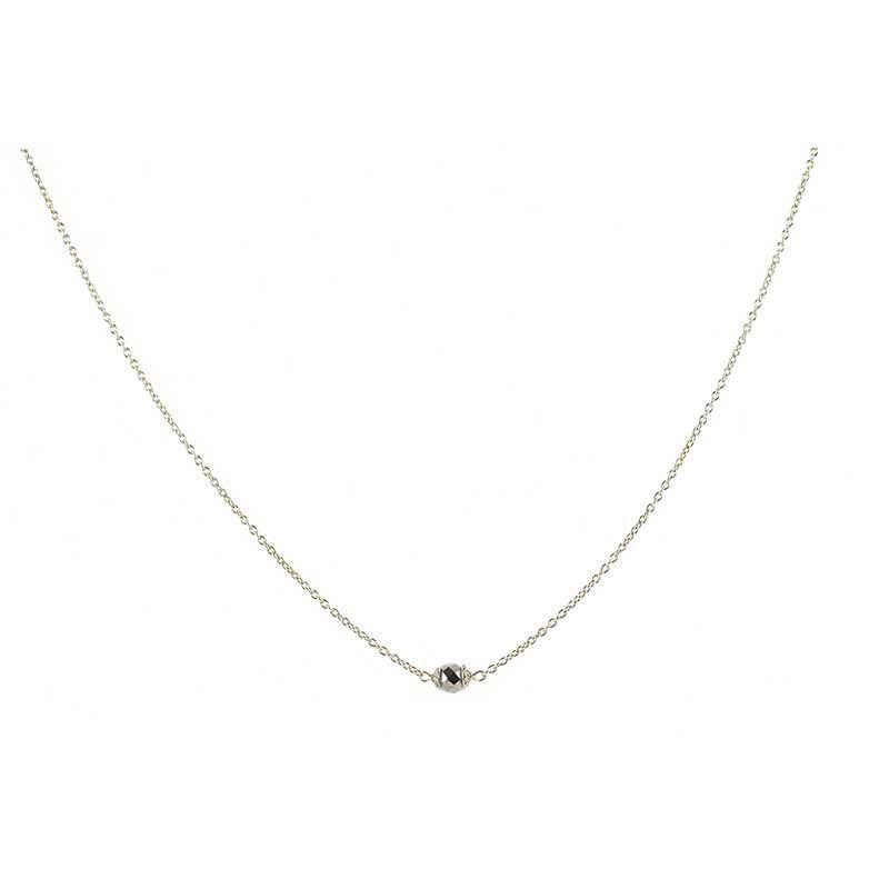 Retired Trousseau necklace | Black Diamond -