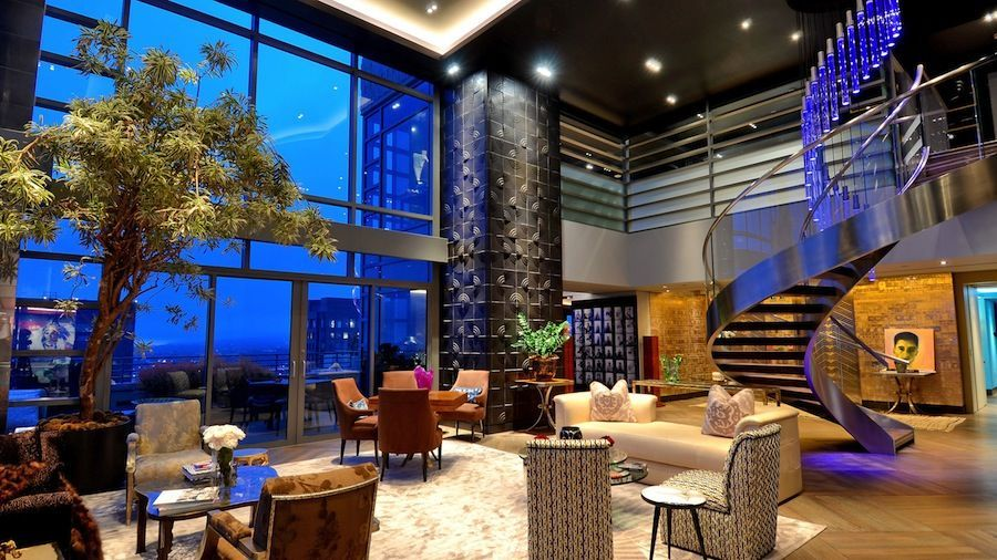 Mansion dream house 5 world class penthouses 2301 for Penthouse apartment los angeles