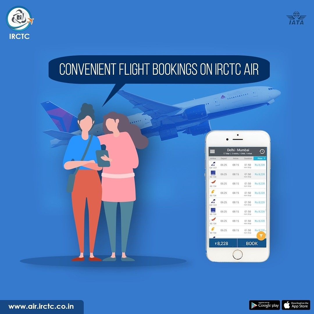 Download IRCTC Air mobile app available for both Android