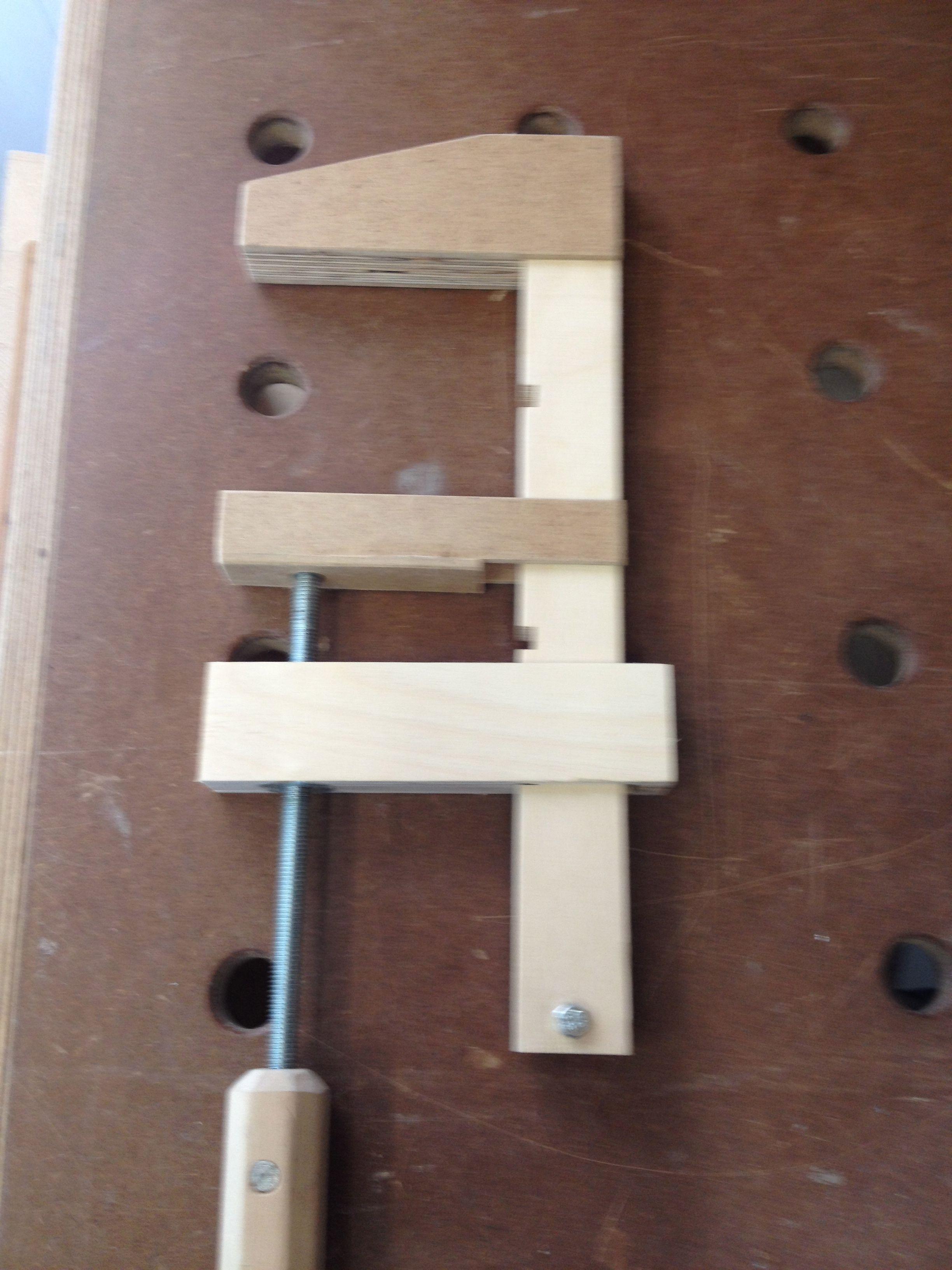 Schraubzwingen Aus Resten Bauanleitung Zum Selber Bauen Tools