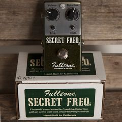 Fulltone Secret Frequency | Pedals and Effects Available at Garrett Park Guitars | www.gpguitars.com