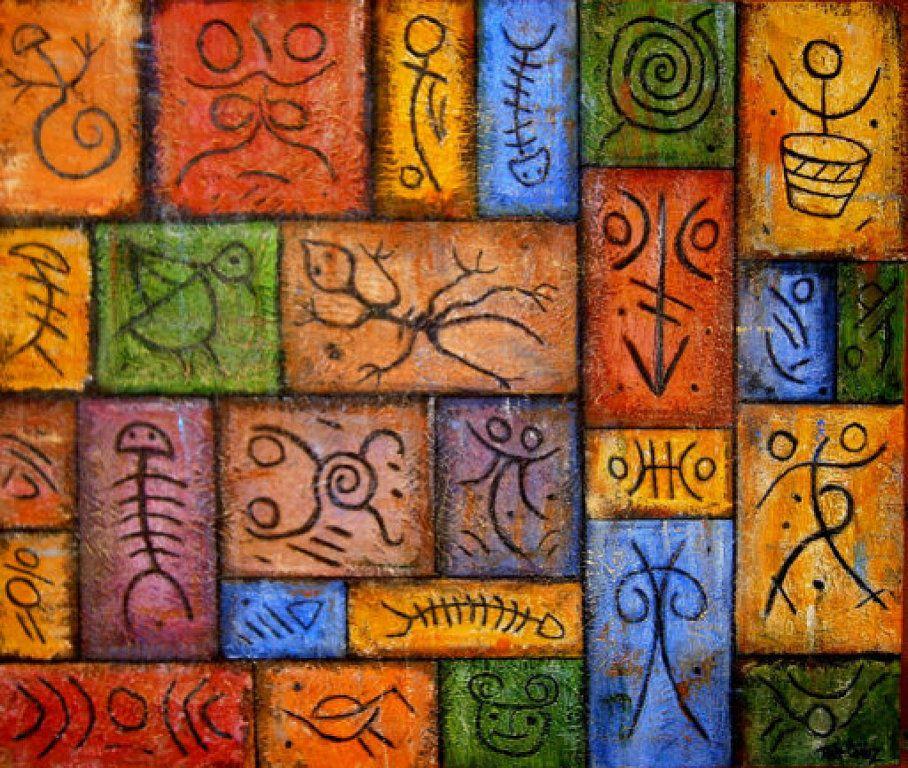 Cuadros artesanales en nuestro EcoMercadillo | Hacer bricolaje es ...