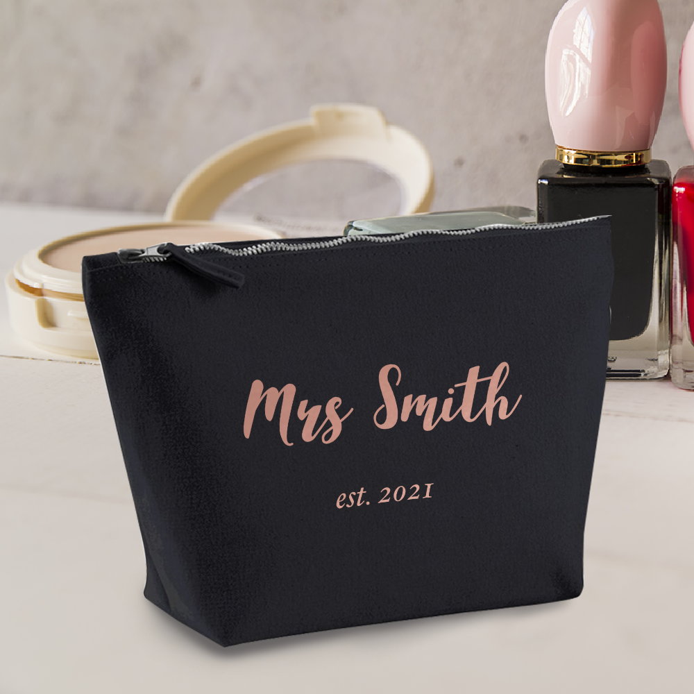 Pin on Personalised Accessory Make Up Bags
