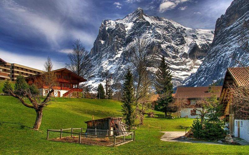 Beautiful Landscape Landscape Switzerland Nature Mountains Hd Desktop Wallpaper Beautiful Places Beautiful Landscapes Places