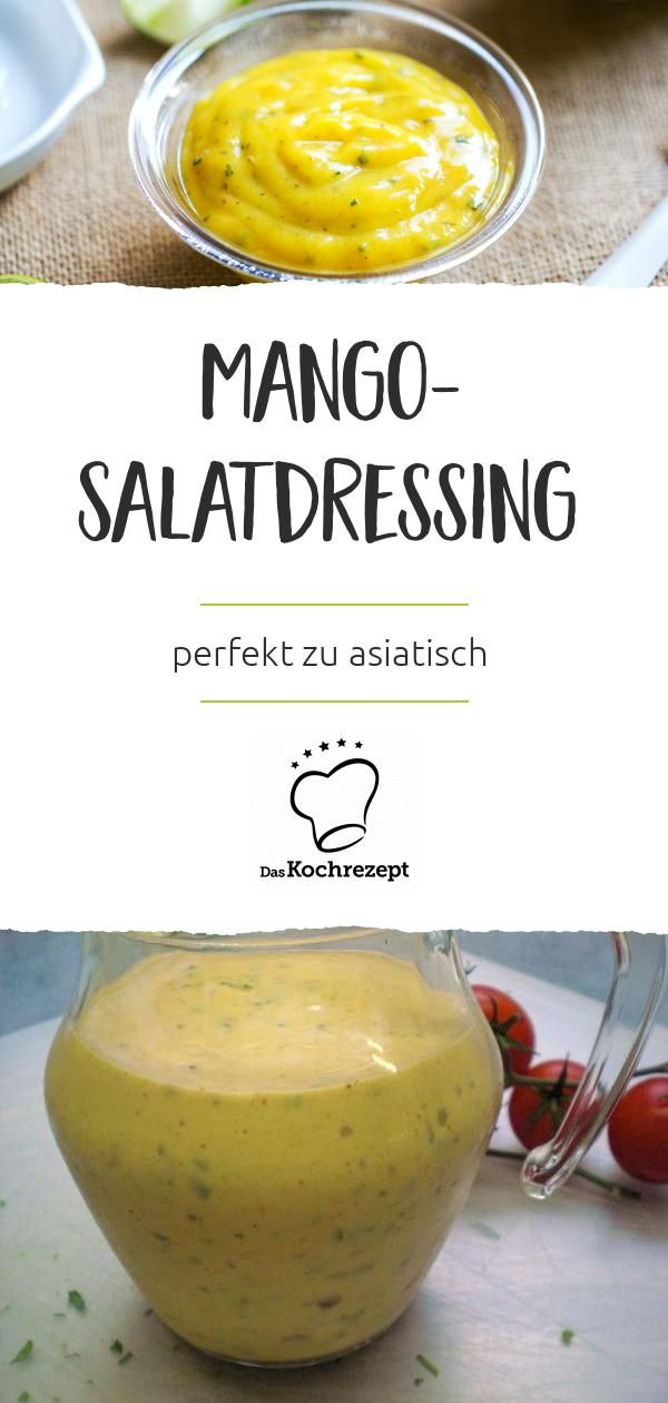 Mango-Salatdressing #soupedetoxminceur