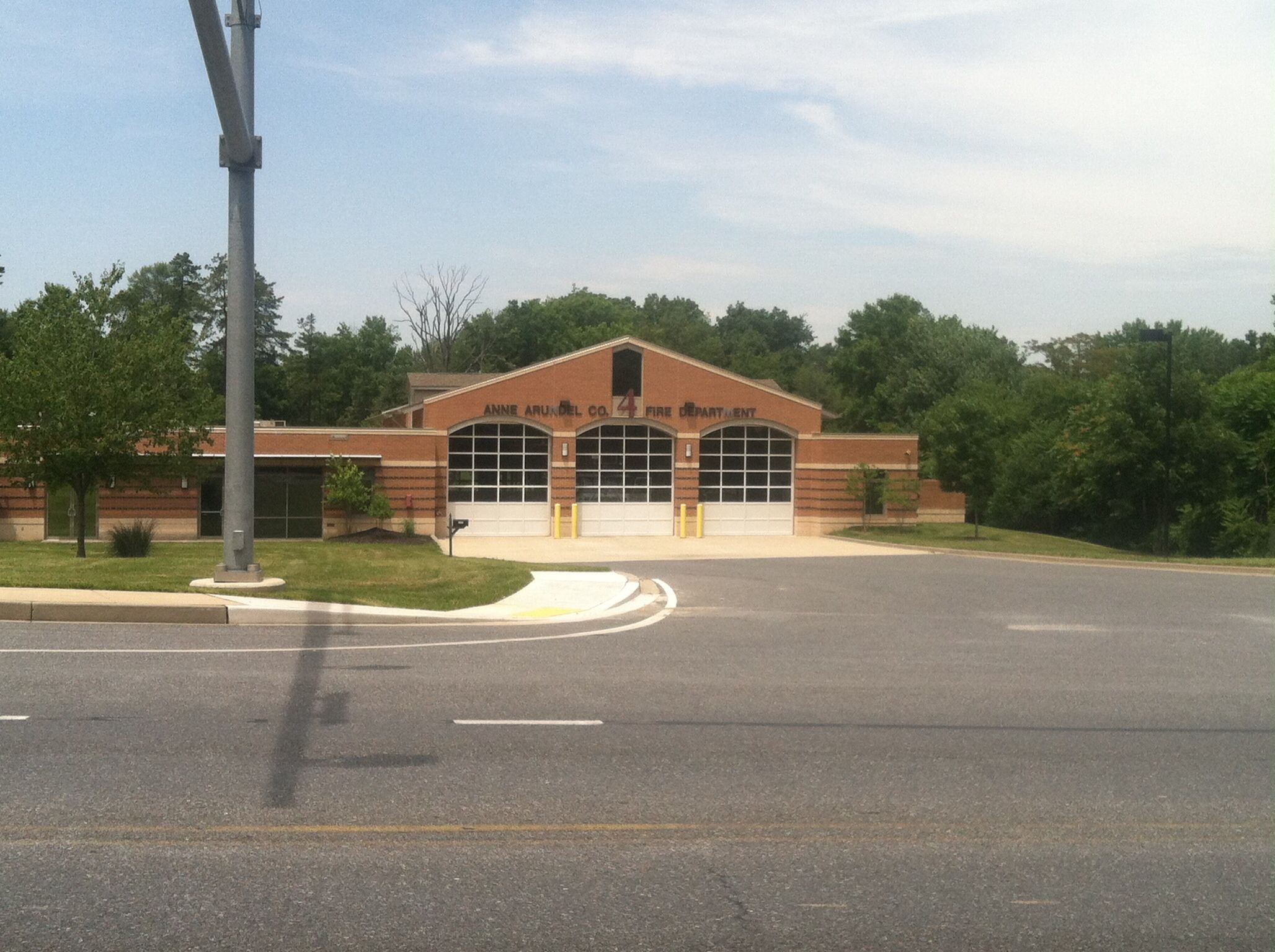 Anne Arundel County Station 4 Severn Maryland