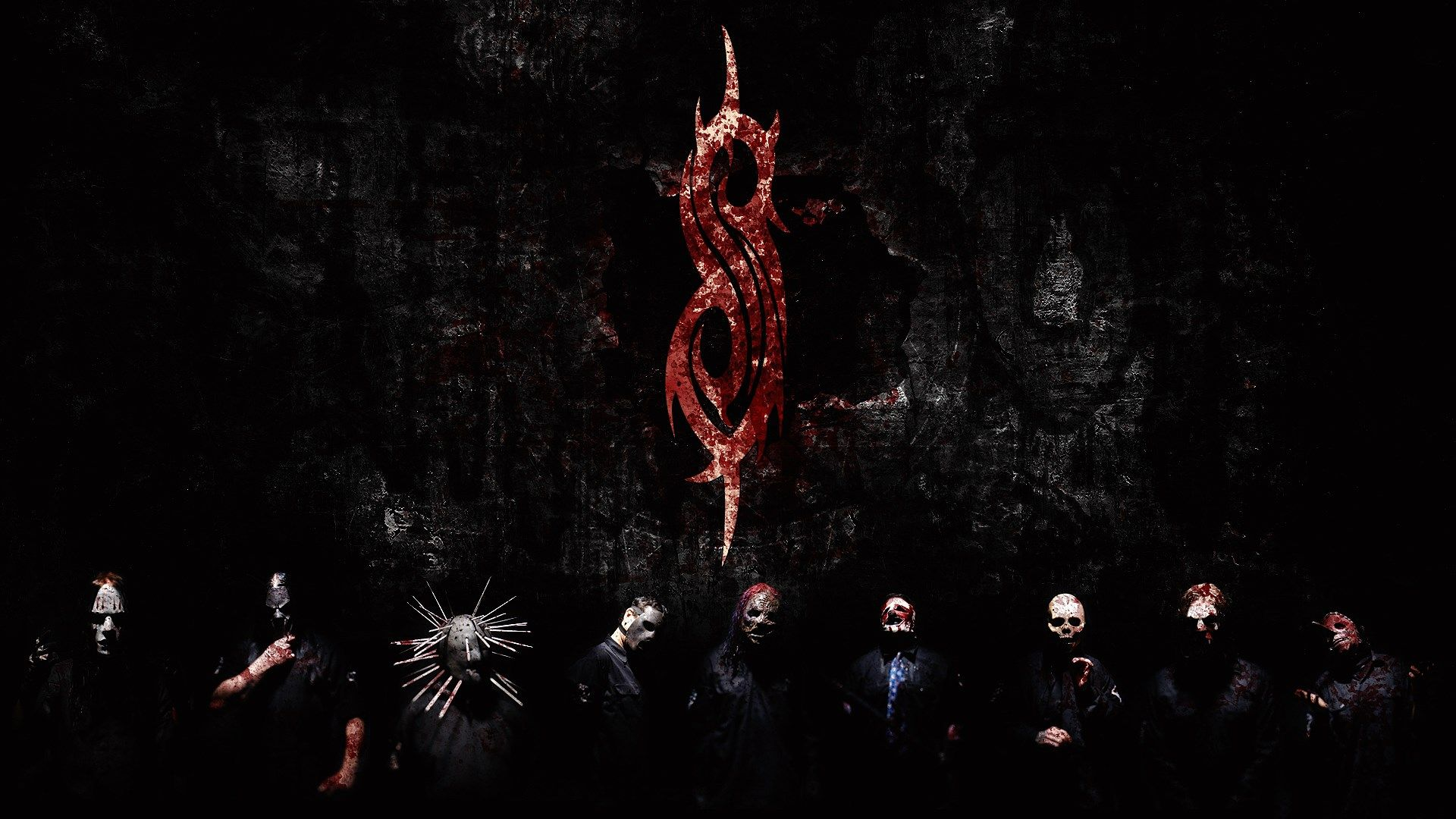 Ivory Round slipknot wallpaper Full HD Wallpapers