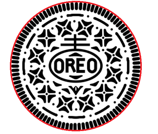 The Dark Truth Behind The Design On Oreos Will Seriously Creep You Out Oreo Design Silhouette Projects