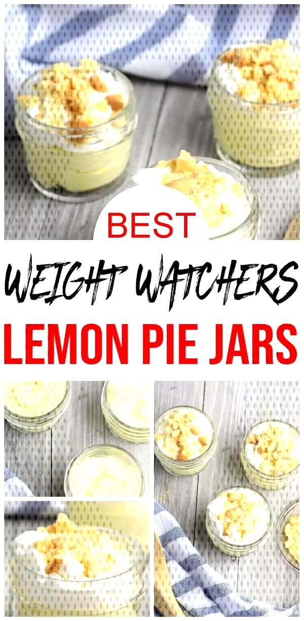 Quick amp easy homemade Weight Watchers lemon pie in a jar recipe.If you are looking for a delicious