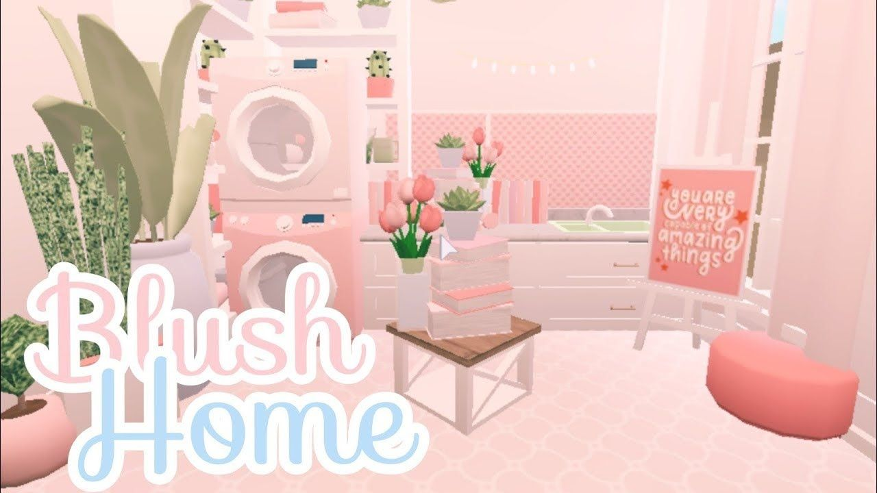 Bloxburg Blush Cozy Family Home House Build Youtube Diy House Plans Unique House Design Bloxburg Ideas Living room bloxburg blush