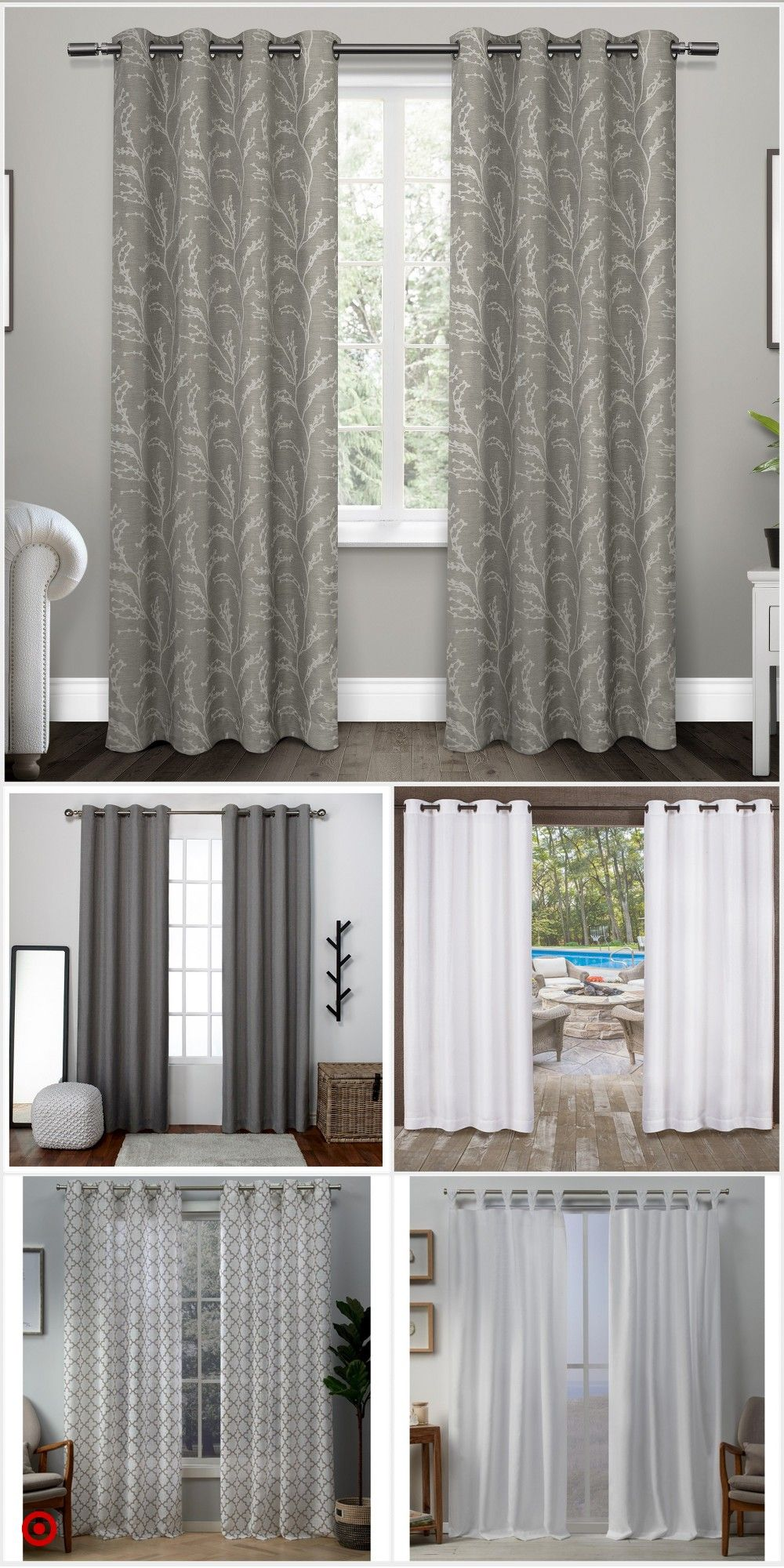 Target Curtain Panels Shop Target For Curtain Panels You Will Love At Great Low Prices