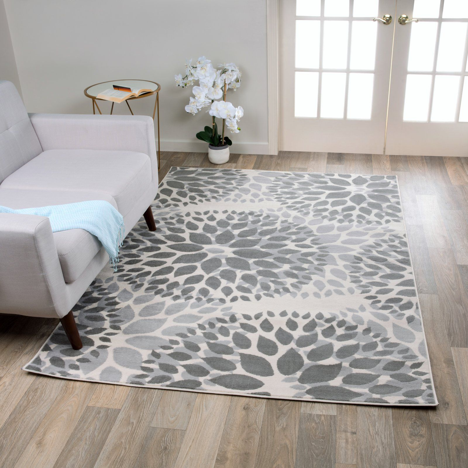 Beaudette floral gray area rug area rugs grey area rug