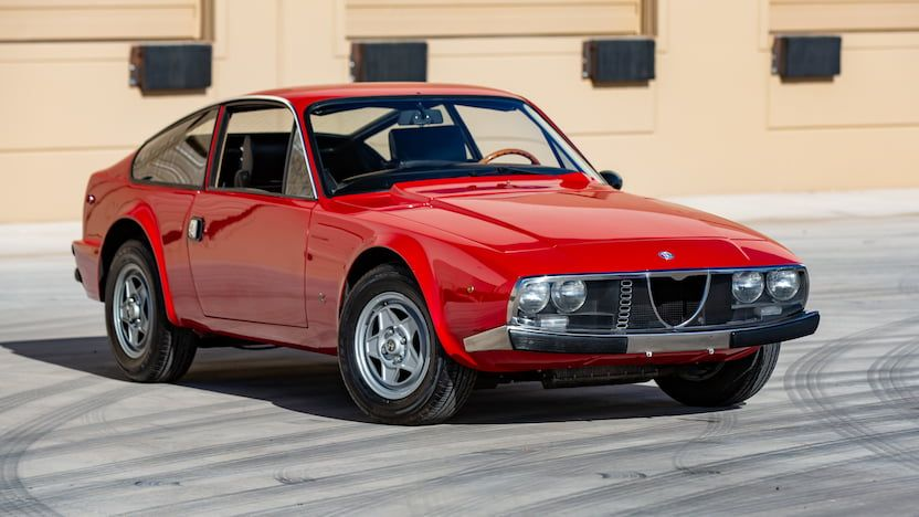 1973 alfa romeo 1600 junior zagato coupe f122 glendale