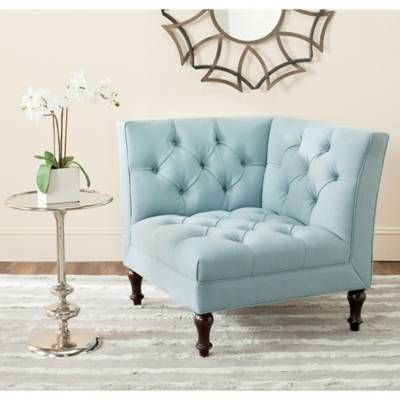 Product Image for Safavieh Jack Corner Chair 2 out of 4 is part of Tufted accent chair -