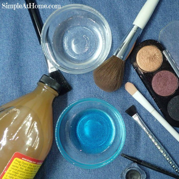 Homemade Makeup Brush Cleaning Solution How to clean