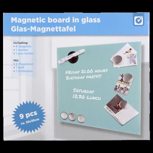 tableau mmo magntique verre 35x35cm ikeaikea ikea - Tableau En Verre Ikea