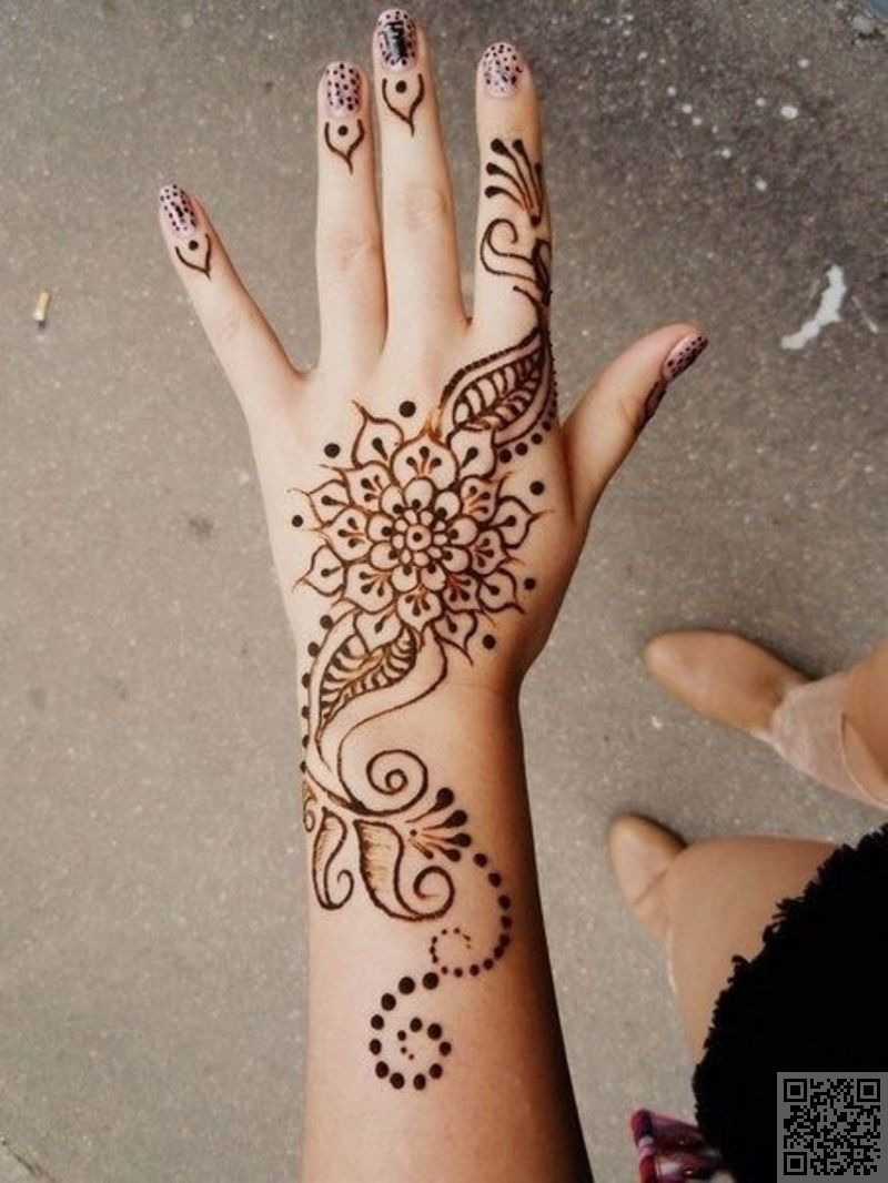 Hand tattoos tattoo ideas hands body art tattoo s floral tattoo - Back Hand Henna Mehndi Designs Call Me Crazy But I Think This Henna Non Permanent Ink Is Awesome