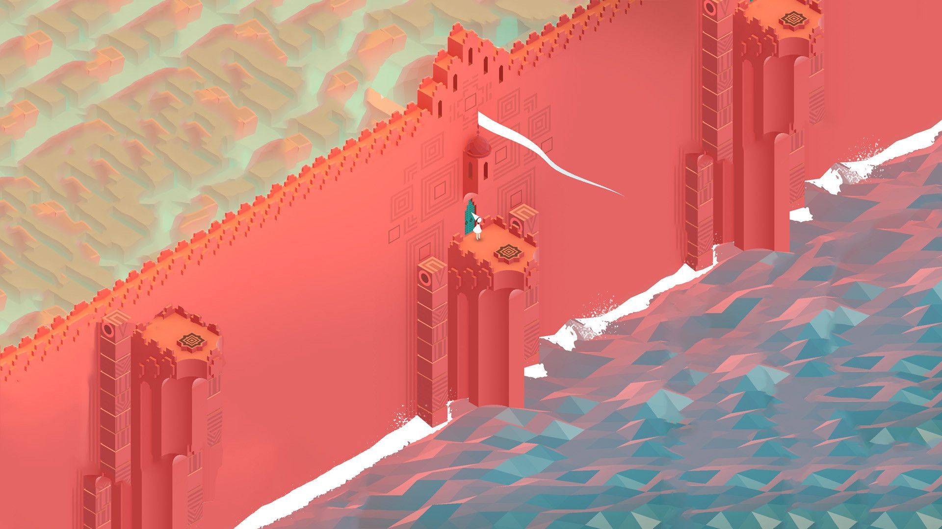 Monument Valley Wallpapers Monument Valley Game Monument Valley Wallpaper